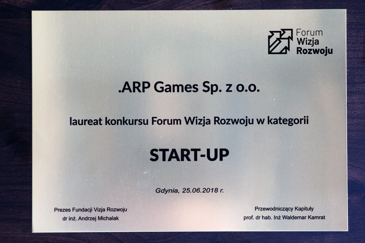 Winners of the Wizja Rozwoju Forum