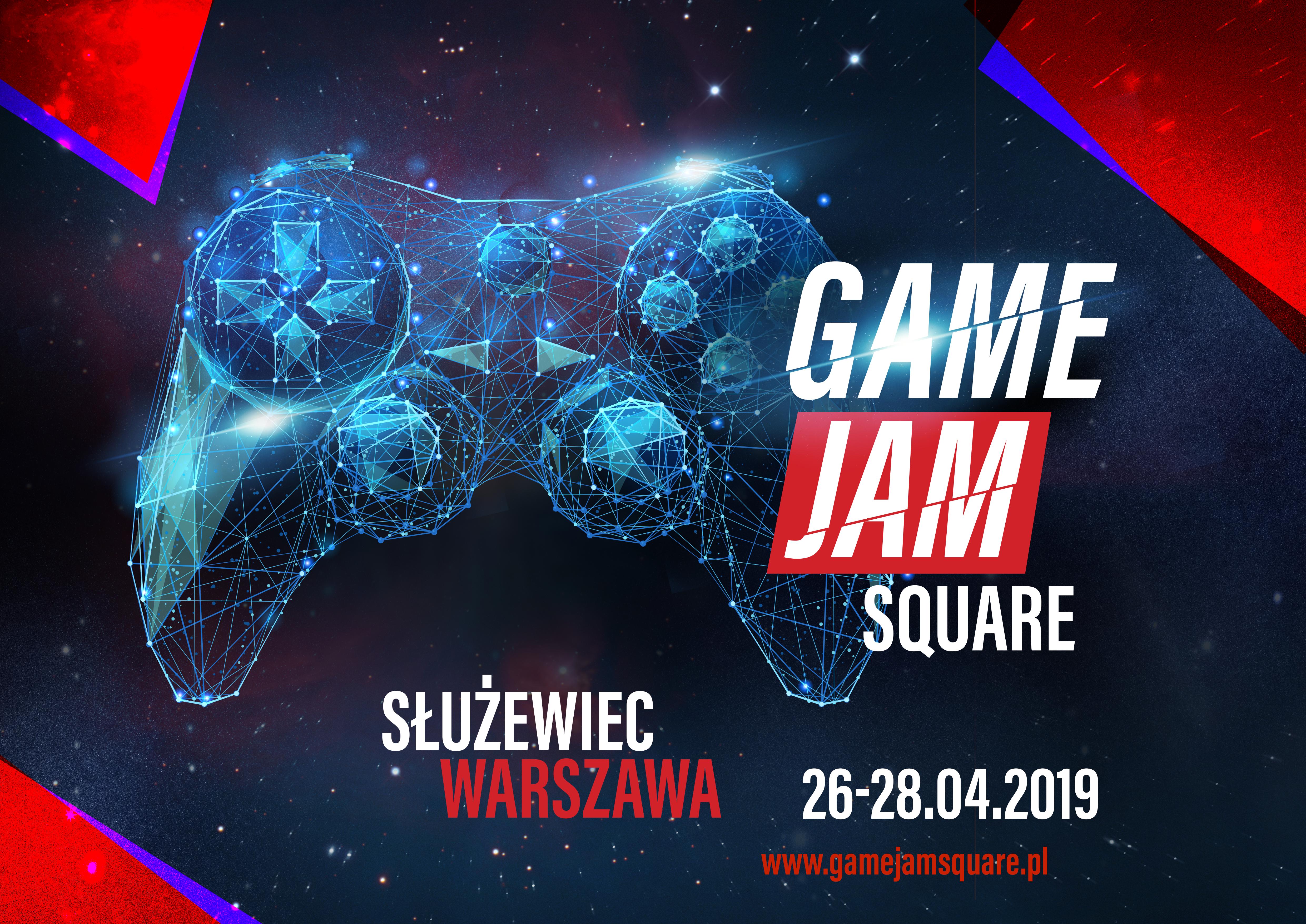 W weekend startuje Game Jam Square
